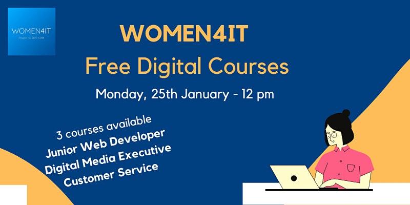 Women4IT Free Digital Courses